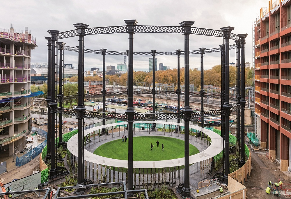 Gasholder Park, London, England